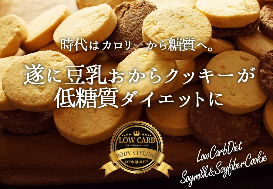 豆乳おからクッキー 低糖質 おからクッキー スイーツ グルテンフリー 置き換え ダイエット食品 糖質コントロール お菓子 おやつ
